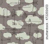 Boyish Seamless Pattern With...