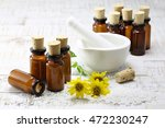 scattered homeopathic arnica... | Shutterstock . vector #472230247