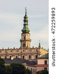 Zamosc Town Hall On Great...