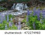 Waterfall Fossarrett In A...