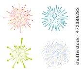 fireworks illustration | Shutterstock .eps vector #472386283