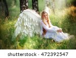 fantasy photo of beautiful... | Shutterstock . vector #472392547