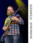 "Small photo of San Francisco, CA/USA - 8/17/16: Stu Allen performs at The Fillmore as part of the ""Can't Stop The Train"" - a Tribute to Jerry Garcia of the Grateful Dead."