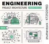 modern engineering construction ...   Shutterstock .eps vector #472520983