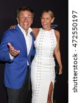 Small photo of LOS ANGELES - AUG 22: Robert Herjavec, Kym Johnson at the Television Academy's Performers Peer Group Celebration at the Montage Hotel on August 22, 2016 in Beverly Hills, CA