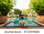 vacation lifestyle scene of... | Shutterstock . vector #472559083