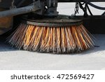 Orange Round Brush Working On...