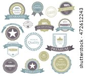vintage retro badge.elements... | Shutterstock .eps vector #472612243