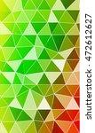 green  red  orange gradient.... | Shutterstock .eps vector #472612627