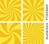 golden and light brown vector... | Shutterstock .eps vector #472633663