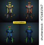 realistic vector cycling... | Shutterstock .eps vector #472681567