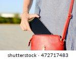 closeup photo of stylish female ... | Shutterstock . vector #472717483