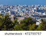 View On Athens From Acropolis ...