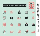 accounting and finance icons | Shutterstock .eps vector #472781167