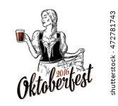 Poster To Oktoberfest Festival...