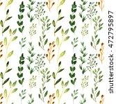 seamless watercolor background. ... | Shutterstock . vector #472795897