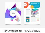 business abstract template... | Shutterstock .eps vector #472834027