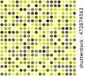 polka dot pattern. seamless... | Shutterstock .eps vector #472874563