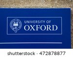 oxford  uk   august 12th 2016 ... | Shutterstock . vector #472878877