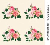 seamless floral pattern with... | Shutterstock .eps vector #472916617