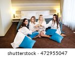 hotel  travel  friendship and... | Shutterstock . vector #472955047