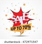 sale discount design with... | Shutterstock .eps vector #472971547