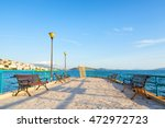 Main City Promenade In Saranda...