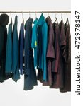 female clothes of different... | Shutterstock . vector #472978147