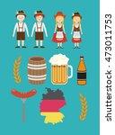 man woman beer barrel german...