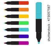 vector illustration colorful... | Shutterstock .eps vector #473057587