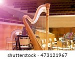 Harp In A Large Concert Hall....
