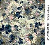 watercolor seamless pattern...   Shutterstock . vector #473123113