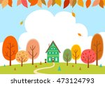 the house of the forest in... | Shutterstock .eps vector #473124793