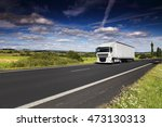 truck on the road | Shutterstock . vector #473130313