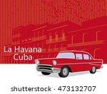 havana cuba | Shutterstock .eps vector #473132707