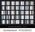 Set Of Silver Gradients...