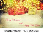 christmas gifts | Shutterstock . vector #473156953