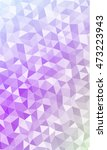 polygonal banner. to promote... | Shutterstock .eps vector #473223943