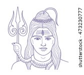 esoteric vector illustration ... | Shutterstock .eps vector #473230777