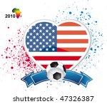 usa football sign | Shutterstock .eps vector #47326387