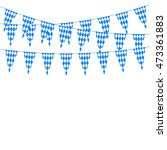 oktoberfest bunting festoon in... | Shutterstock .eps vector #473361883
