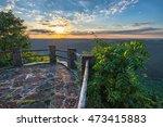 kingdom come state park ... | Shutterstock . vector #473415883