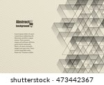 abstract background with... | Shutterstock .eps vector #473442367