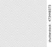 white 3d geometric seamless... | Shutterstock . vector #473448373