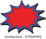 blast | Shutterstock .eps vector #473469493