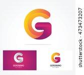letter logo g | Shutterstock .eps vector #473473207