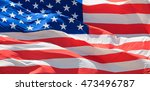 flag of the usa | Shutterstock . vector #473496787