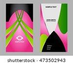 business card template  | Shutterstock .eps vector #473502943