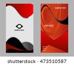 business card template  | Shutterstock .eps vector #473510587