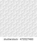 white seamless geometric... | Shutterstock .eps vector #473527483